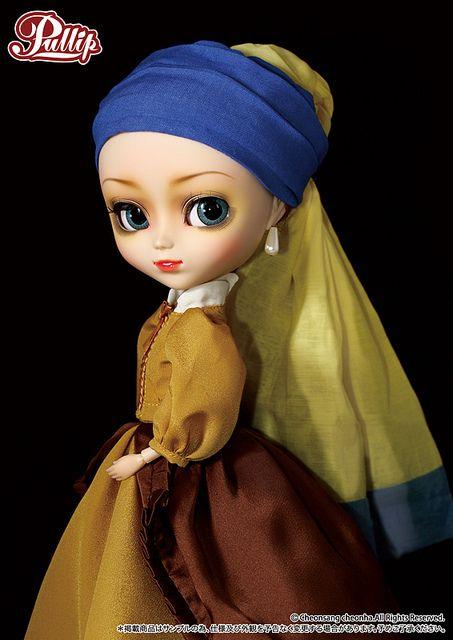 Pullip (Vermeer)La ragazza con il turbante