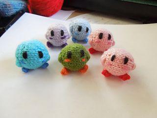 Tiny Kirby by Annalin Davis