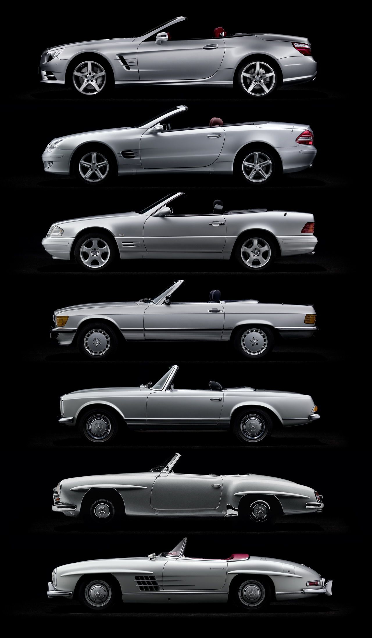 Mercedes Benz Blog The new Mercedes Benz SL 60 years of SL history