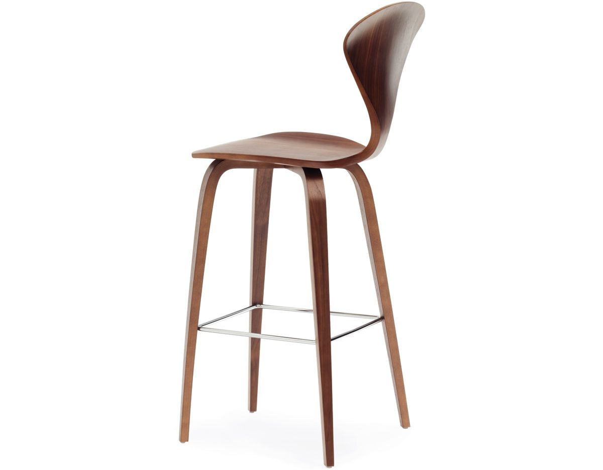 norman cherner wood leg stool from cherner chair company | Anacapa ...