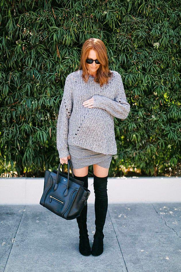 Looks de street style con botas altas, ¡aprende cómo combinarlas!