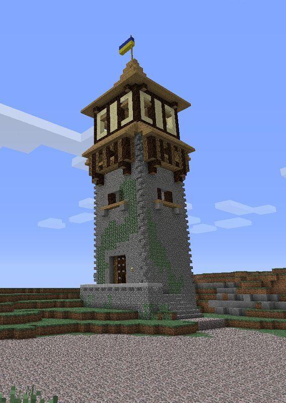 Lighthouse Idea In Minecraft Minecraft Pinterest Minecraft