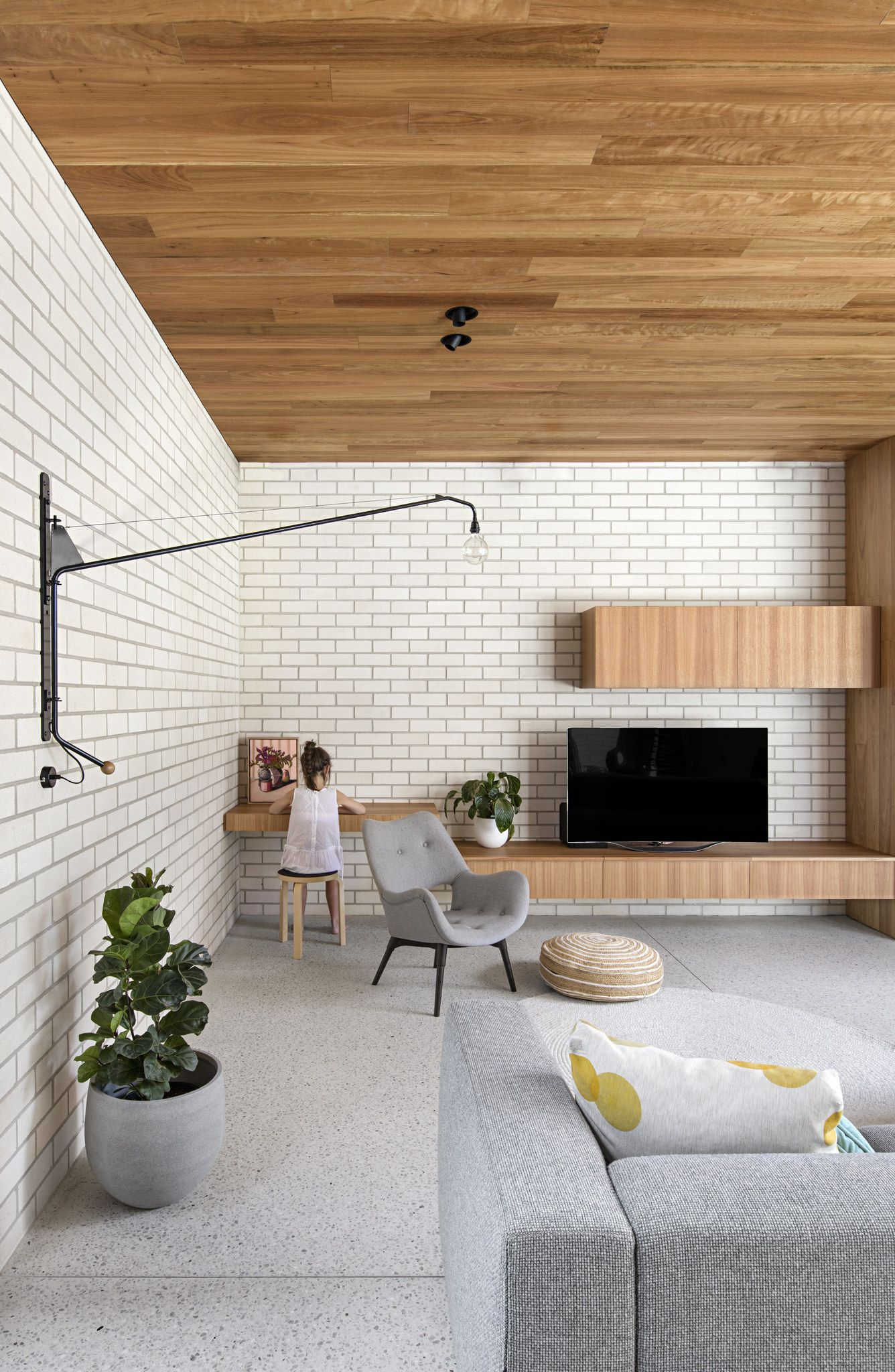Bowral Bricks In Chillingham White Brick Interior Wall Brick