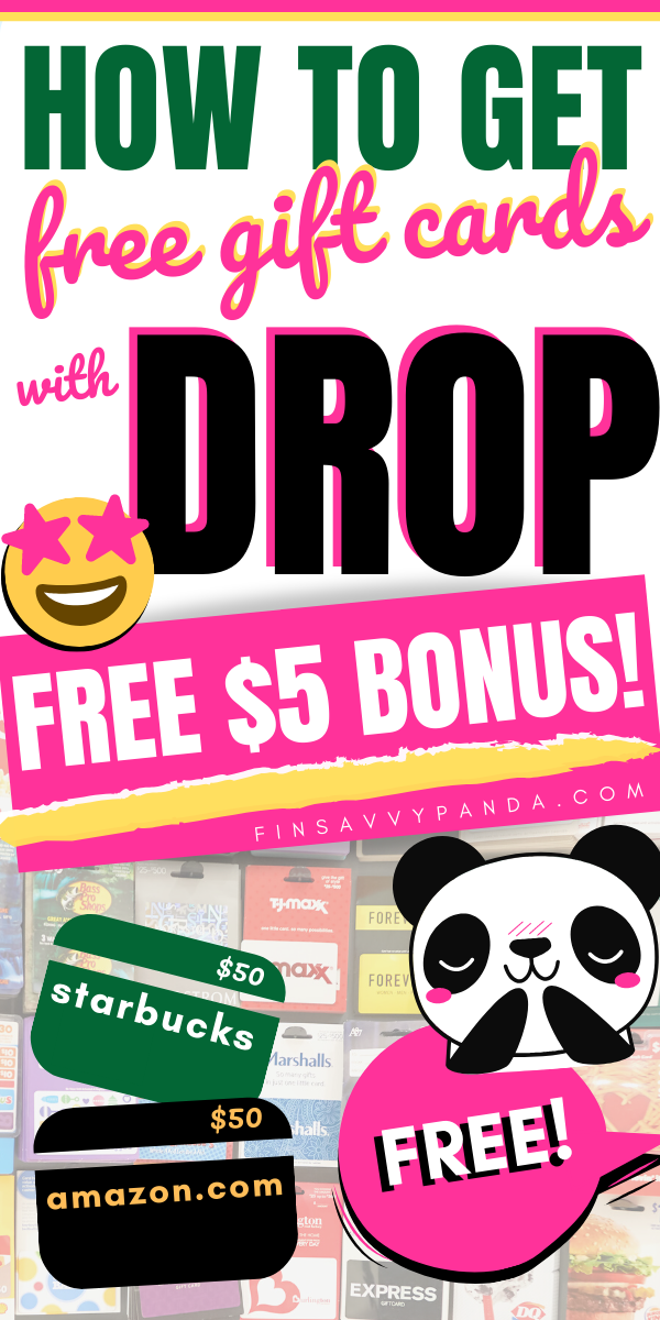 Drop App Review This is How I Get Free Gift Cards (Plus