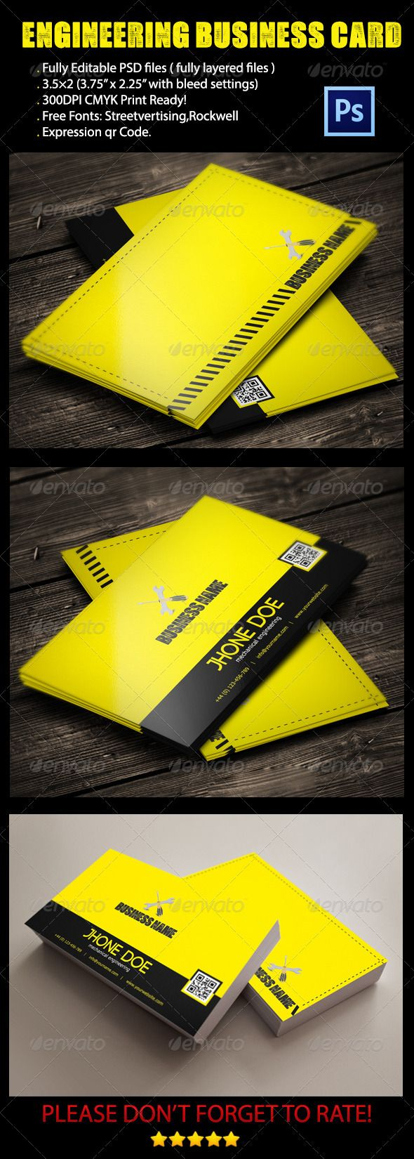 Engineer business card pinterest business cards business and fonts engineer business card photoshop psd design business cards online business cards available here reheart Choice Image