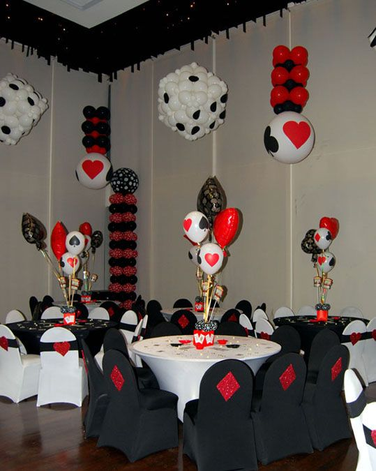 VARIOUS ARTISTS Casino Centerpiece Balloons Casino