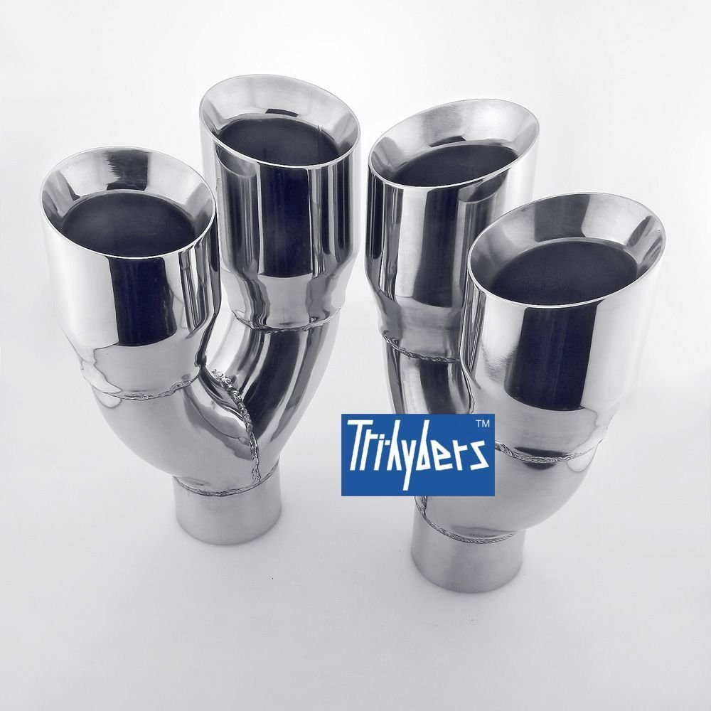 pin on 2 5 inlet exhaust tip
