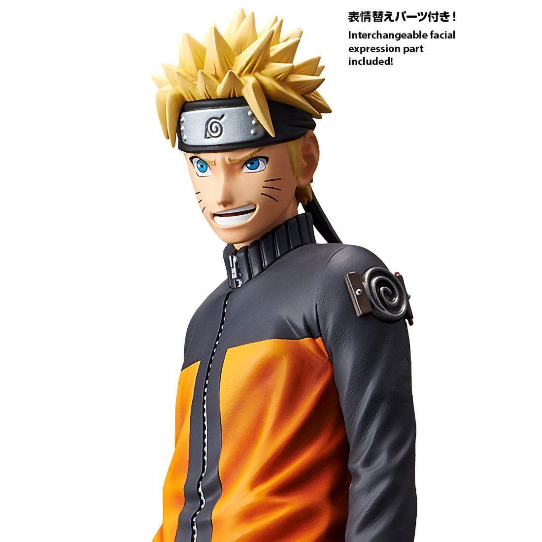 Banpresto Uzumaki Naruto 10 6 Naruto Shippuden X Grandista I