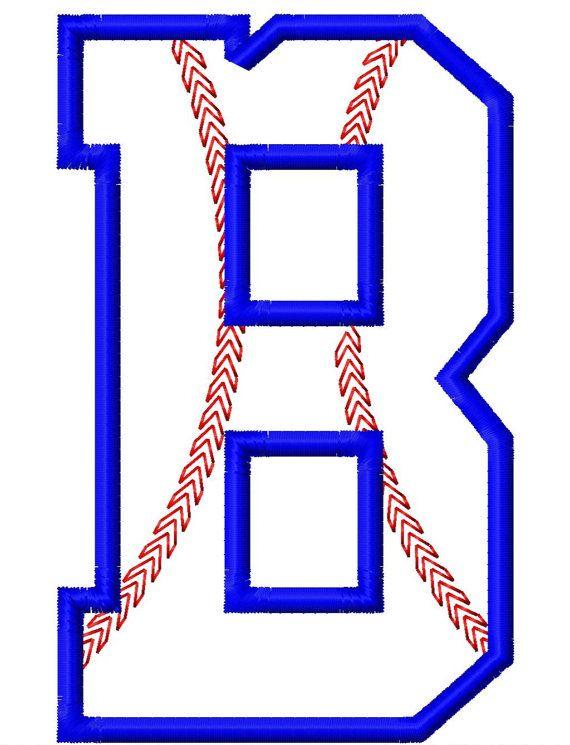 Baseball Stitch Applique Font Set Machine by LilliPadGifts, $8.50 ...