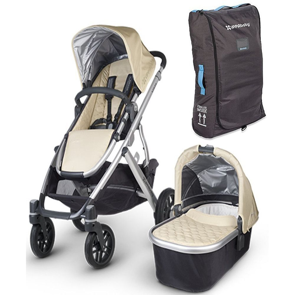 UPPAbaby 2015 Vista Stroller With UPPAbaby Travel Bag for ...
