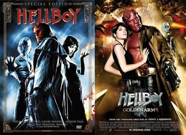 hellboy 1 and 2 | Hellboy movie, Movies, Cinema