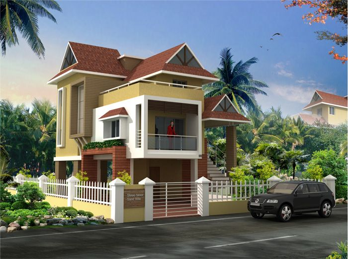 If you are looking to own a bungalow plot or a farmhouse for Konkan home designs