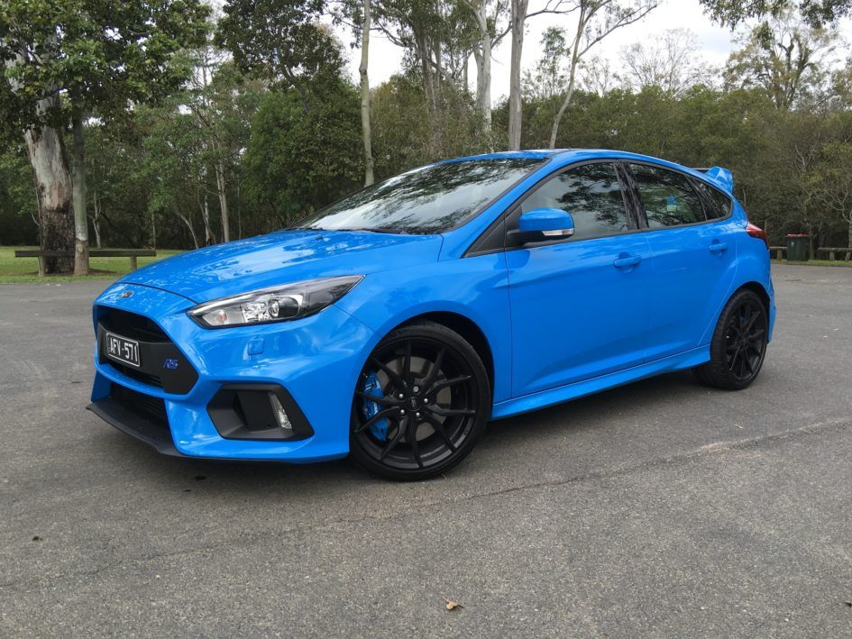 Review Ford Focus Rs Rx Black 2016 Aftermarket Wheels Available