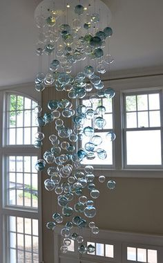 Bubbles Chandelier Lighting Whimsical