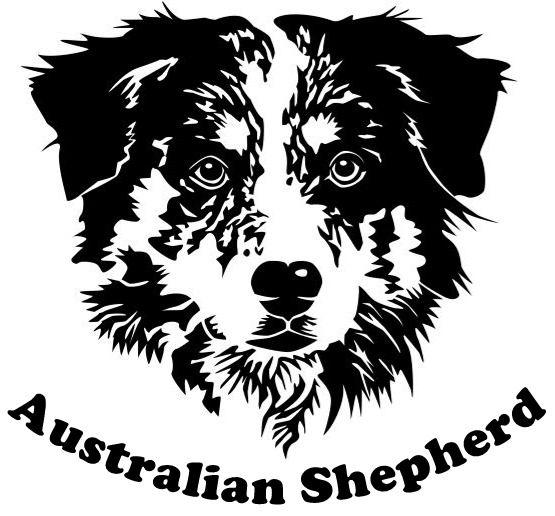 Australian Shepherd Vector Google Zoeken Australian Shepherd
