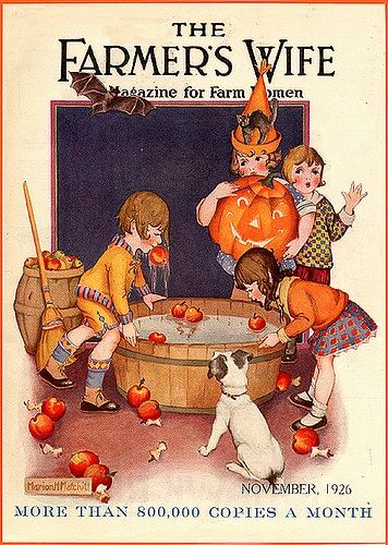 vintage magazine cover the farmers wife 1926 vintage halloween - Halloween Magazines