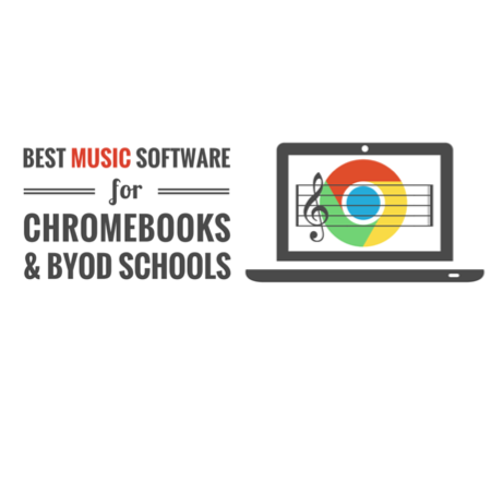 Best Music Software For Chromebooks Byod Schools In 2020 Music Software Piano Lessons Elementary Music