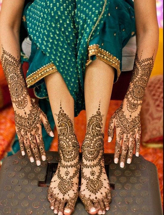 Bridal Mehndi Designs For Full Hands Images 2013 Indian