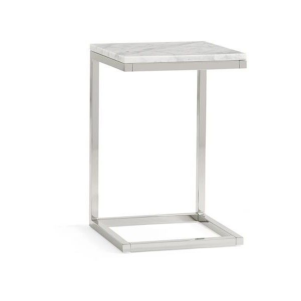 Bryn Marble Top C Table ($349) Via Polyvore Featuring Home, Furniture,