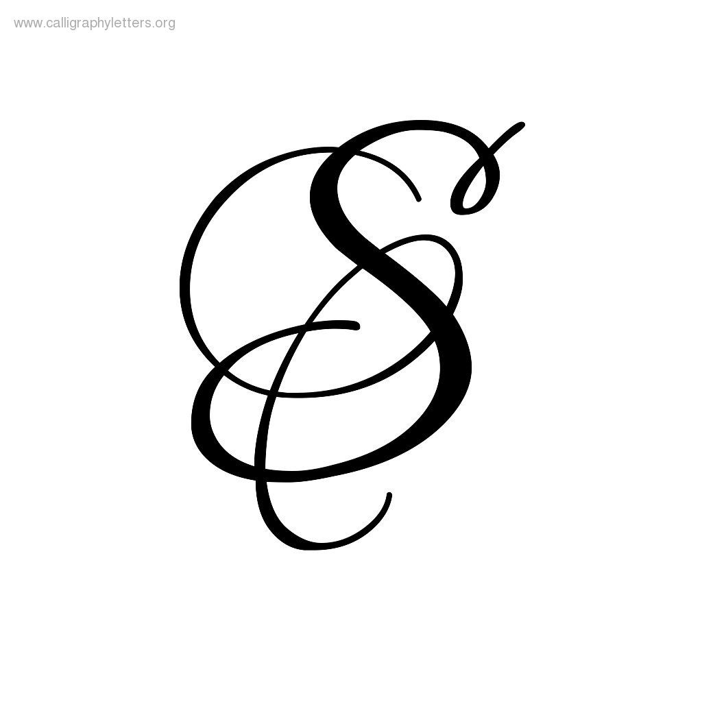 Images For > Fancy Letter S Designs