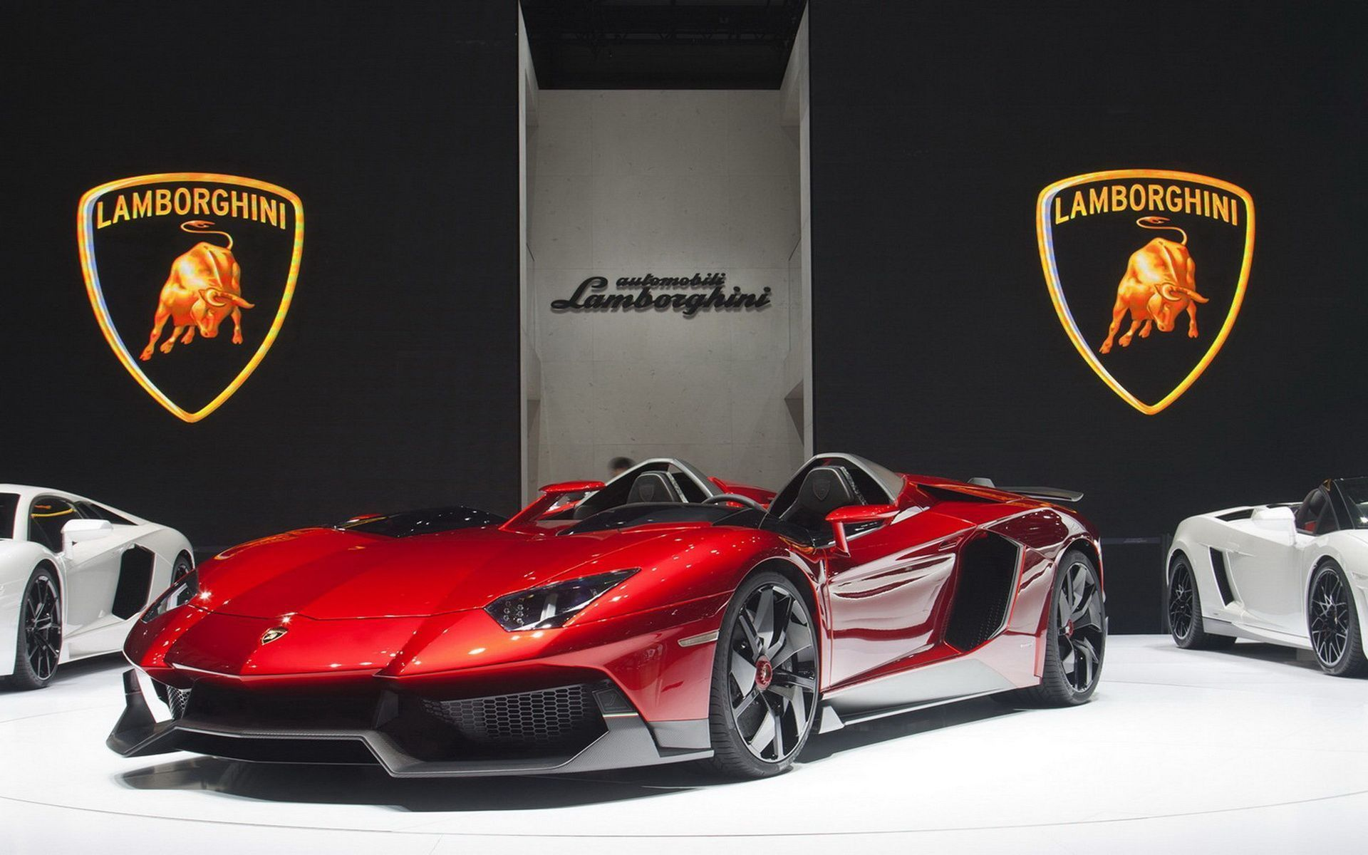 Superbe Lamborghini Aventador J Wallpaper HD