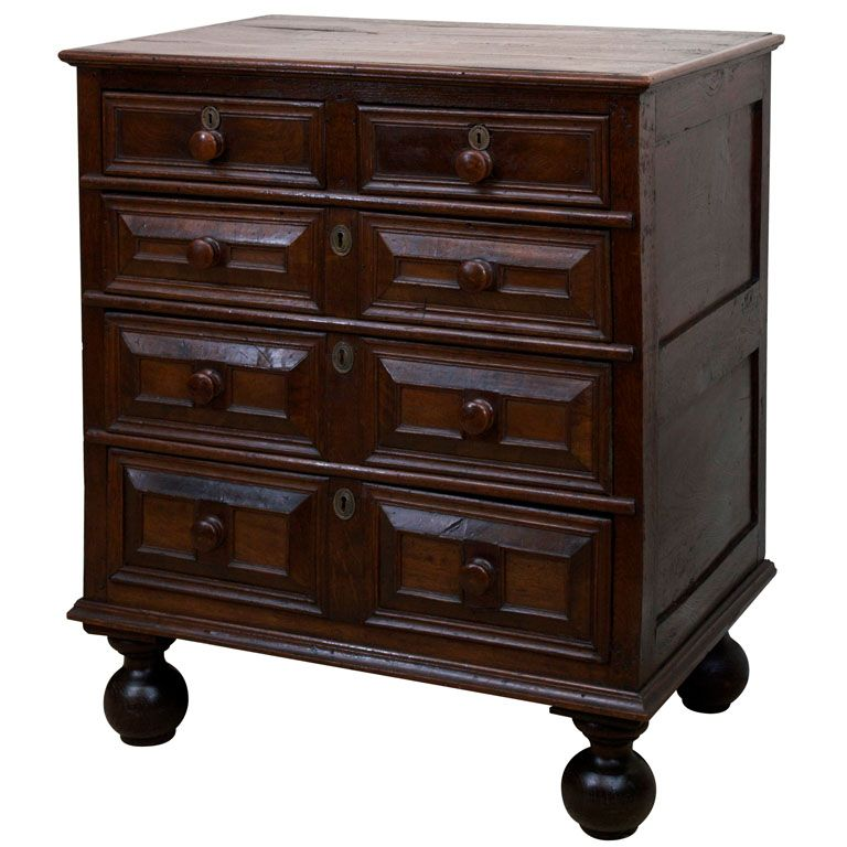 Best Jacobean Chest Of Drawers 17Th Century England Chest 400 x 300