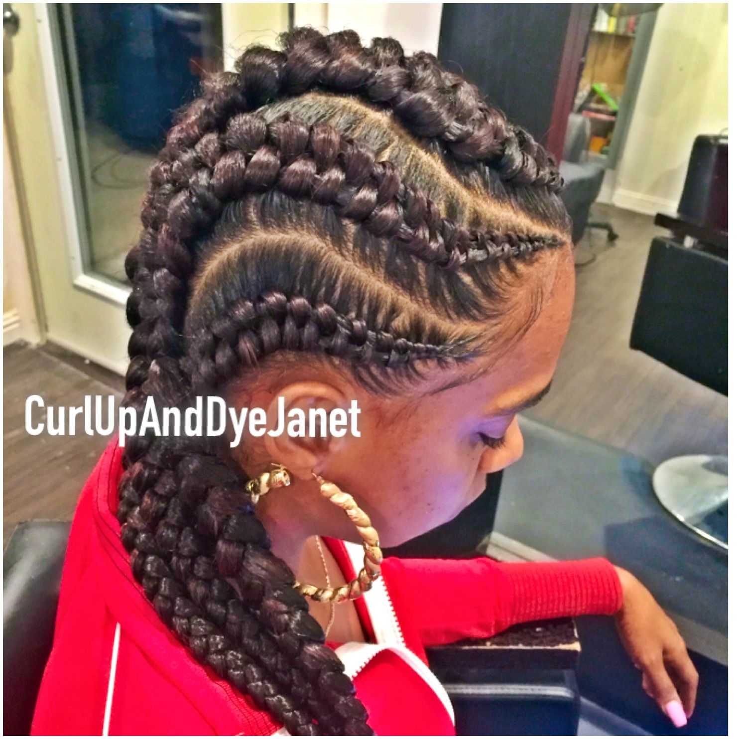Zipper Braids Zipper Braid Braided Hairstyles Hair Styles