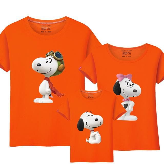 bd9e93fc Family Matching T-Shirts: Snoopy. Comes in multiple colors | Monday ...