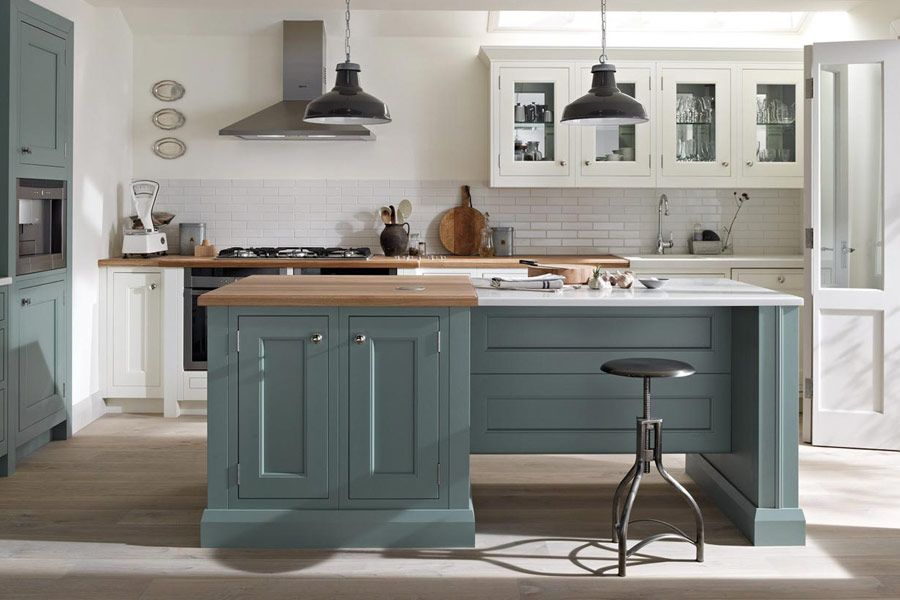 Shaker Kitchens - Natural Wood and Hand Painted | Broadway ...