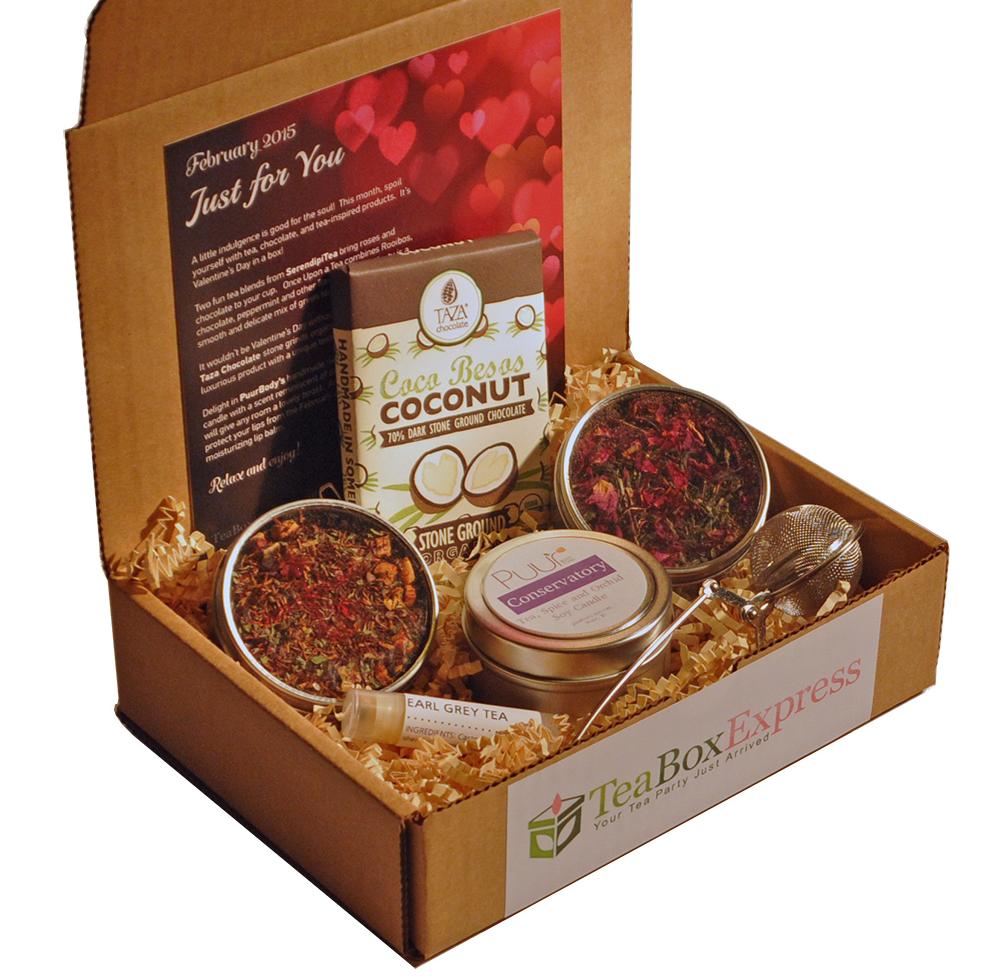 Tea Box Express monthly tea subscriptions Tea