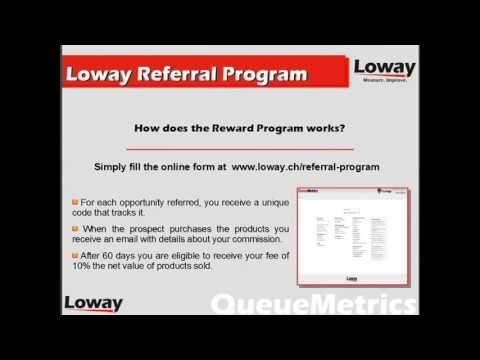 Loway Referral Reward Program for Asterisk Solutions   Loway