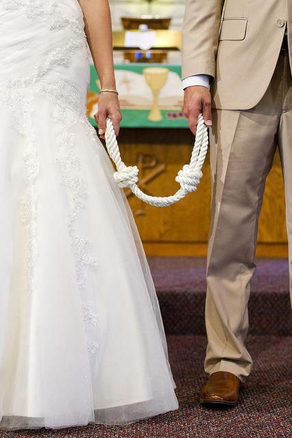 Wedding Unity: The Couple Tied The Knot Literally In Their