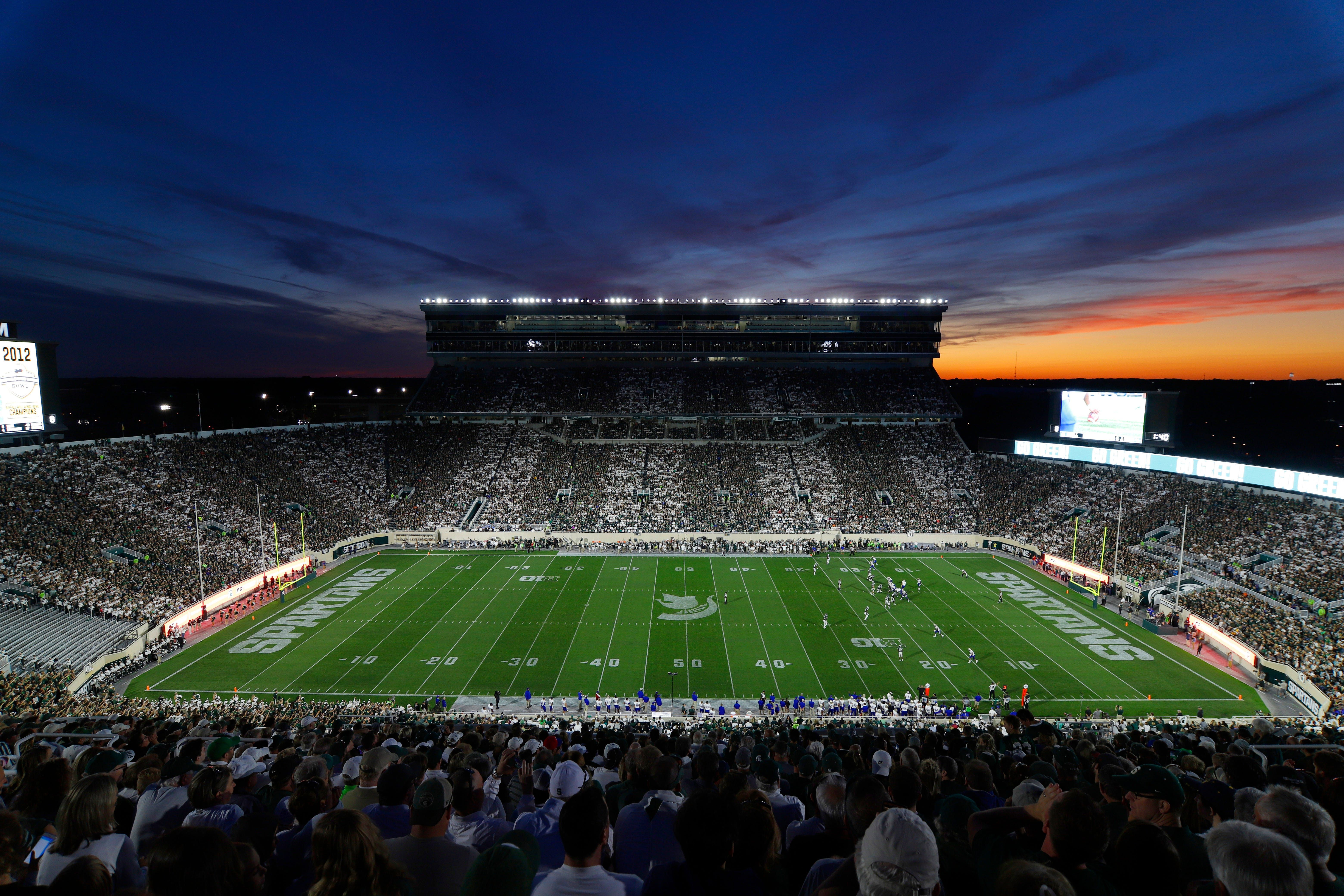 Michigan state football pauses ticket sales as school