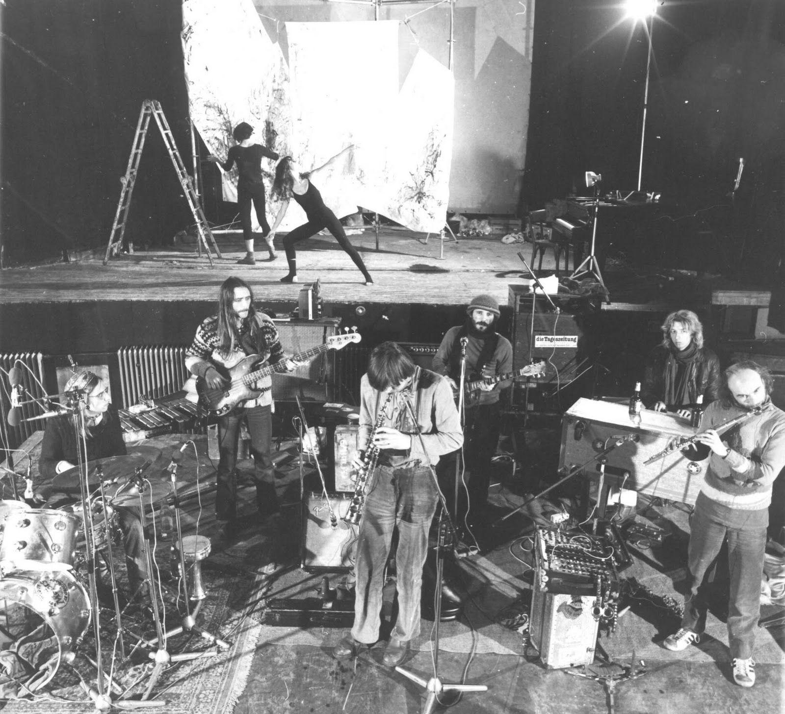 Embryo - 1980 - dancer and painter UFA Berlin & Christian Burchard, Uve Müllrich, Edgar Hofmann, Remigius Drechsler, Michael Wehmeyer
