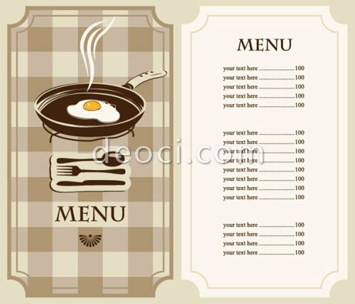 Doc770477 Free Cafe Menu Templates for Word Free Restaurant – Free Restaurant Menu Template Word