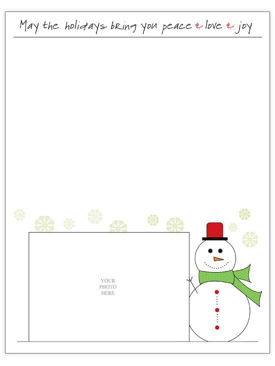 Free Christmas Letter Templates – Christmas Letter Template Word Free