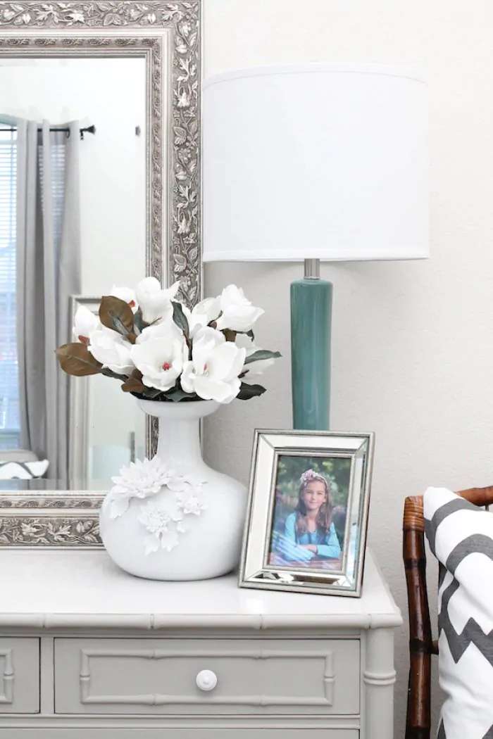 5 Tips On How To Decorate A Dresser Top In 2020 Dresser Top