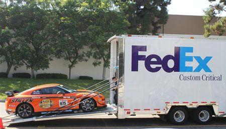 Fedex Custom Critical Google Search Van Signage Custom Fedex