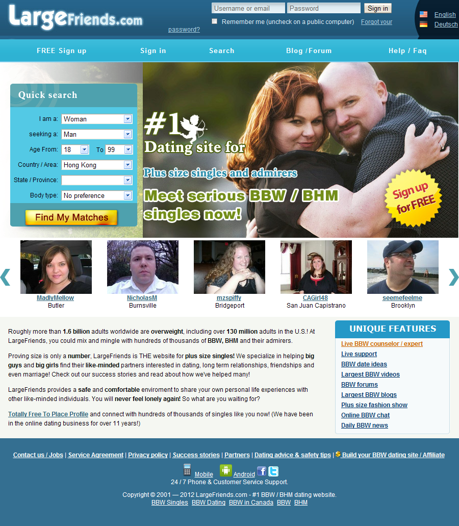 success big and beautiful singles Bbw dating sites reviews – get expert reviews of bbw dating sites that are considered as best in 2018 it makes easier for people seeking a big beautiful woman.