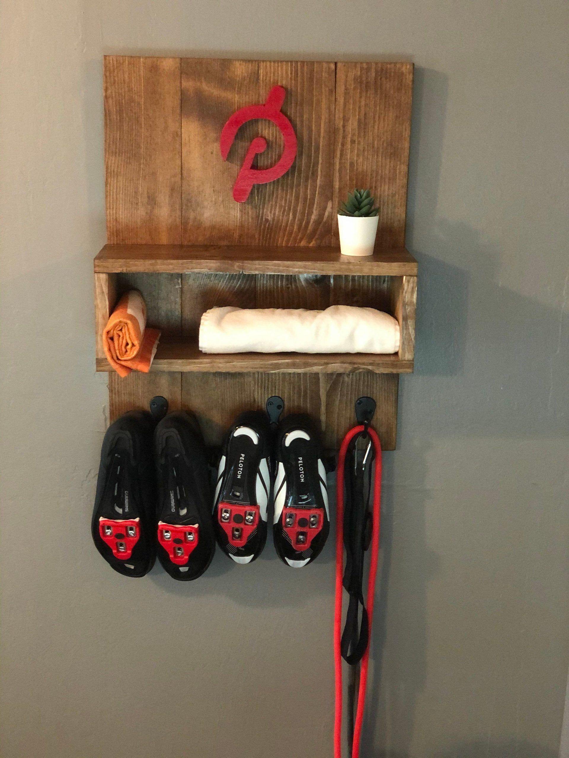 Cycle shoe wall hangingpeloton inspiredcycle