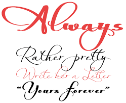 Image result for always light font free download   Calygraphy