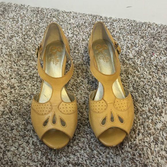 Mustard Yellow Seychelles Mustard Yellow Seychelles Shoes Heels