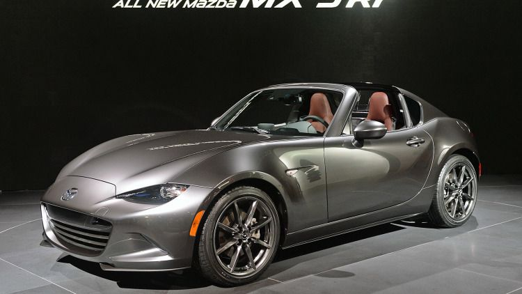 This Is The 2017 Mazda Mx 5 Rf Targa Roof Fastback