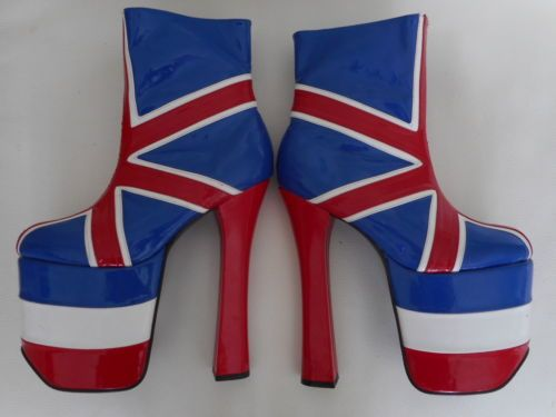 b5f75fb02 Union-Jack-Platform-boots-made-by-Pleaser-Size-7-WOW | Casual Style ...