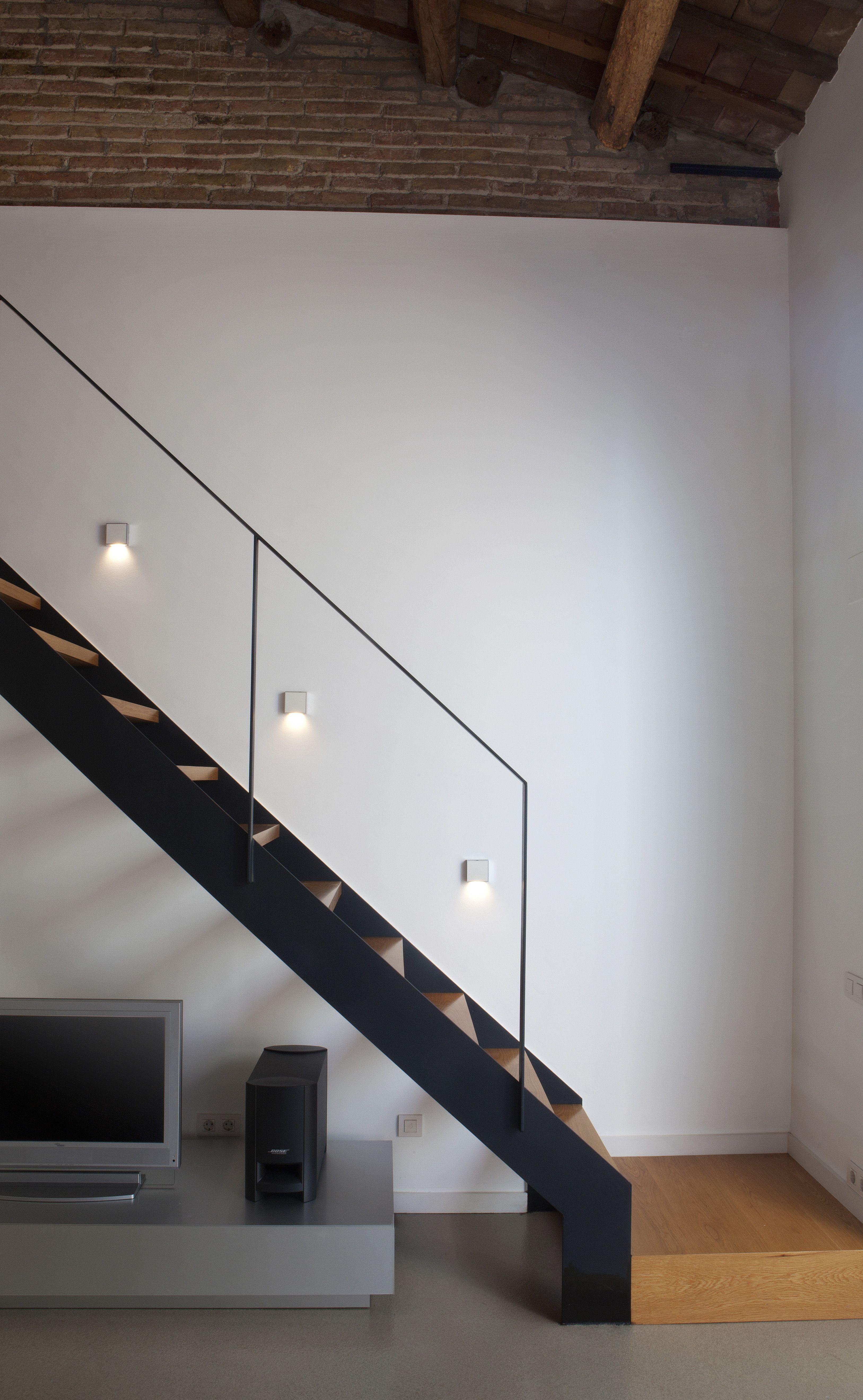 barandillas escaleras barandales metal negro reformas comedor quiero madera escaleras modernas