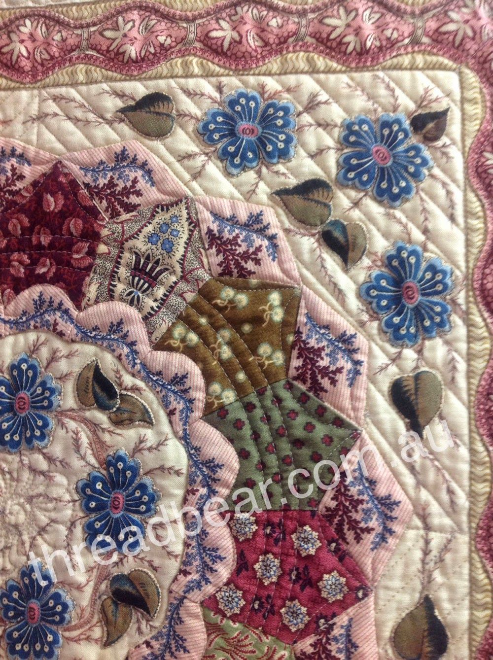 Threadbear, patchwork, quilt, reproduction fabric, Castlemaine ... : threadbear quilts - Adamdwight.com