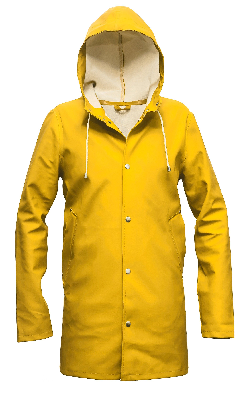 Paddington in yellow.     Stockholm Gul – Stutterheim Raincoats