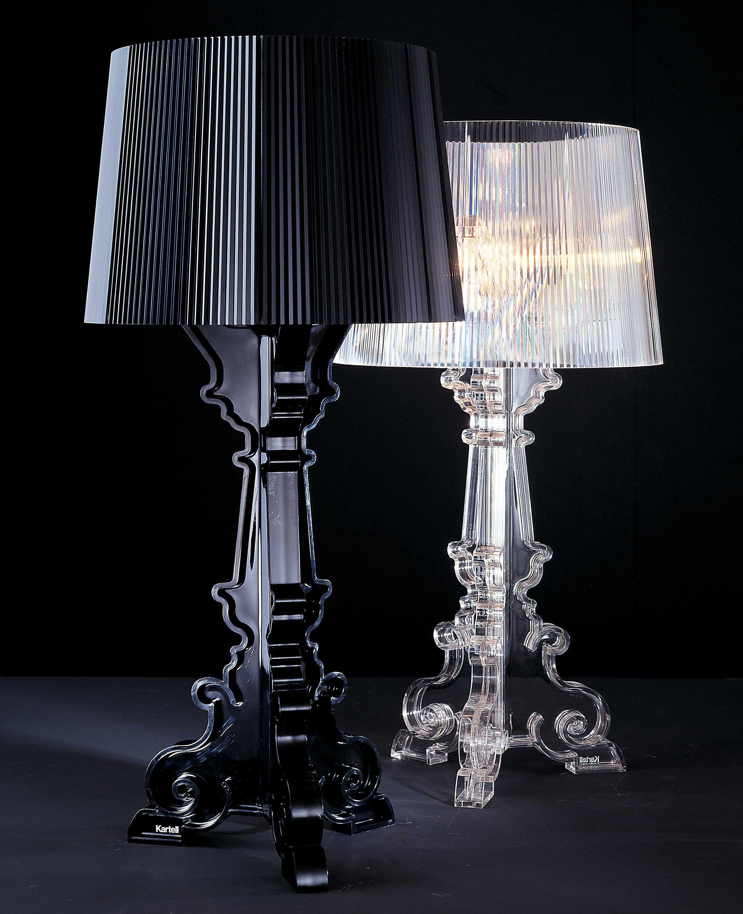 Lampe De Table Bourgie Kartell Noir Made In Design Lampe Kartell Lampes De Table Lampe De Chevet Design