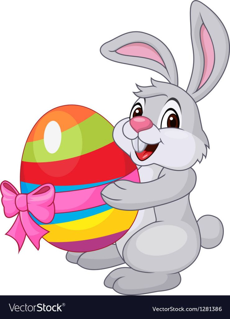 20 'easter bunny' coloring pages cartoon drawings
