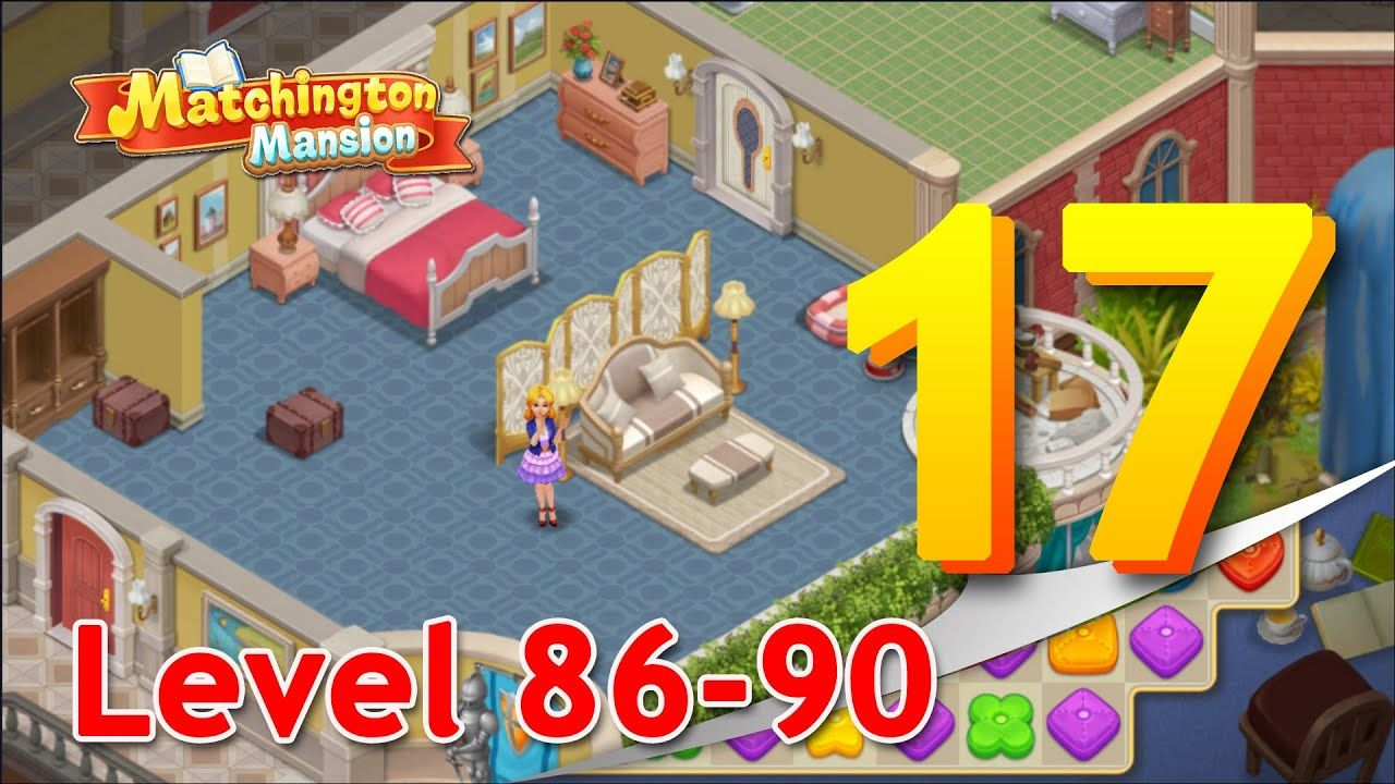 Matchington Mansion Part 17 Level 86 90 Lucky Streak Game Room Design Mansions Mansion Rooms